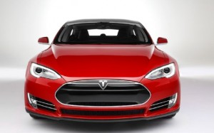 A red automobile. Our Las Vegas Insurance Agency offers excellent service and rates.